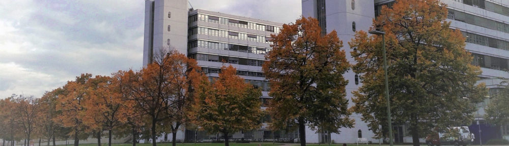 Main Building of Bielefeld University, Germany