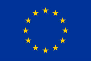 EU flag: with a circle of 12 stars